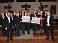 13 Konzert Mainzer Hofsänger, Schecks für KITA Dahlheim und Geistig behinderte Kinder